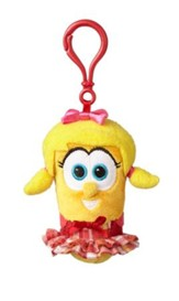 VeggieTales Backpack Clip, Plush Laura