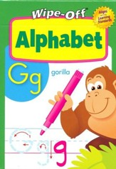 Alphabet Wipe-Off Activity Cards