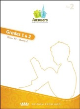 Answers Bible Curriculum Year 2 Quarter 2 Grades 1-2 Teacher Kit