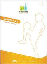 Answers Bible Curriculum Year 2 Quarter 2 Grades 5-6 Teacher Kit