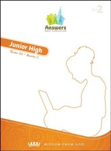 Answers Bible Curriculum Year 2 Quarter 2 Jr. High Teacher Kit