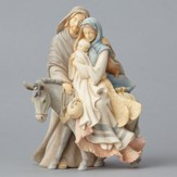 Foundations, Holy Family with Donkey Figurine