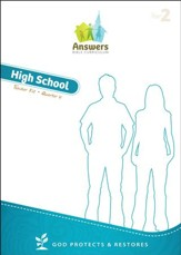 Answers Bible Curriculum Year 2 Quarter 4 High School Teacher Kit