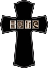 Blank, Home Cross, Black
