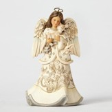 Heartwood Creek, Woodland Angel Figurine, White