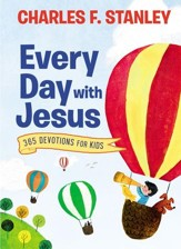 Every Day with Jesus: 365 Devotions for Kids - eBook