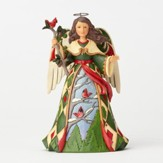 Heartwood Creek, Angel with Cardinals Figurine