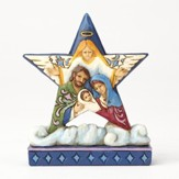 Heartwood Creek, Star with Holy Family Figurine