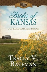 Brides of Kansas: 3-in-1 Historical Romance Collection - eBook