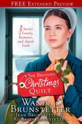 The Beloved Christmas Quilt (Free Preview): Three Stories of Family, Romance, and Amish Faith - eBook