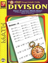 Easy Timed Math Drills: Division