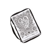 Color Me, Heart, Bible Cover, Medium