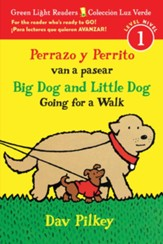 Perrazo y Perrito van a pasear, Big Dog and Little Dog Going for a Walk