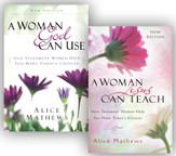 A Woman God Can Use/A Woman Jesus Can Teach - 2 Pack