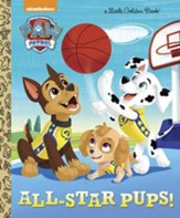 Little Golden Book: All Star Pups