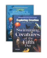 Exploring Creation with Zoology 2:  Swimming Creatures of the  Fifth Day Advantage Set (with Junior Notebooking Journal)