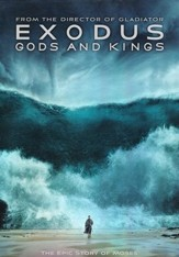 Exodus: Gods and Kings, DVD