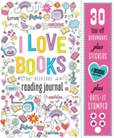 I Love Books: Keepsake Reading Journal