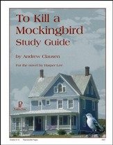 To Kill a Mockingbird Progeny Press Study Guide
