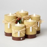 Advent LED Candles, 5 pieces