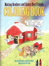 Making Brothers and Sisters Best Friends Coloring Book