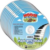 Camp Moose on the Loose: Music CDs, Piano with Vocals (10-pack)