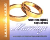 What The Bible Says About Marriage Audiobook on CD