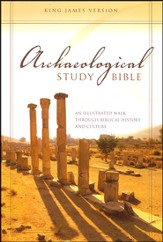 KJV Archaeological Study Bible: An Illustrated Walk Through Biblical History and Culture, Case of 8