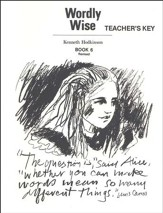 Wordly Wise, Book 6, Grade 9-Teacher's Key