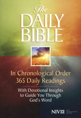 The NIV Daily Bible, Softcover