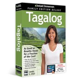 Instant Immersion Family Edition Deluxe Tagalong Levels 1, 2, & 3 on CD-Rom