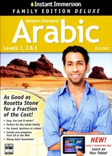 Instant Immersion Family Edition Deluxe Arabic Levels 1, 2, & 3 on CD-Rom