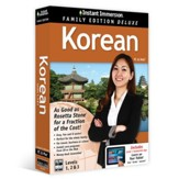 Instant Immersion Family Edition Deluxe Korean Levels 1, 2, & 3 on CD-Rom