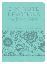 3-Minute Devotions for Teen Girls: A Daily Devotional for Her Heart - eBook