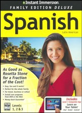Instant Immersion Family Edition Deluxe Spanish Levels 1, 2, & 3 on CD-Rom