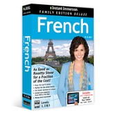 Instant Immersion Family Edition Deluxe French Levels 1, 2, & 3 on CD-Rom