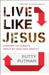 Live Like Jesus: Discover the Power and Impact of Your True Identity - eBook