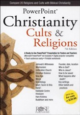 Christianity, Cults & Religions: PowerPoint CD-ROM