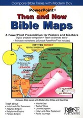 Then and Now Bible Maps: Powerpoint CD-ROM