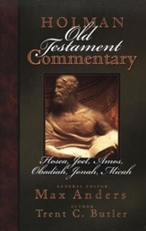 Holman Old Testament Commentary: Volume 19 Hosea, Joel, Amos, Obadiah, Jonah, Micah - Slightly Imperfect