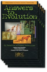 Answers to Evolution Pamphlet - 5 Pack