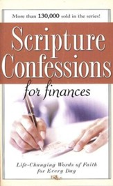 Scripture Confessions for Finances