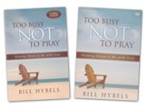 Too Busy Not to Pray, Book & DVD