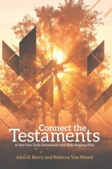 Connect the Testaments: A 365-Day Devotional with Bible Reading Plan - eBook
