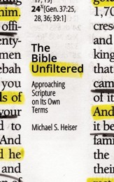 The Bible Unfiltered: Approaching Scripture on Its Own Terms - eBook