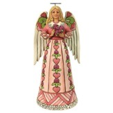 Heartwood Creek, Breast Cancer Awareness Angel Figure