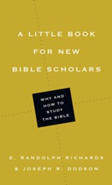 A Little Book for New Bible Scholars - eBook