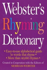 Webster's Rhyming Dictionary