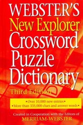 Webster's New Explorer Crossword Puzzle Dictionary, 3rd Edition