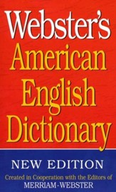 Webster's American English Dictionary (New Edition)